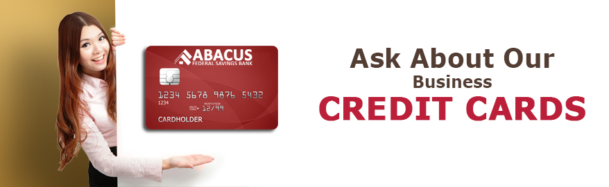 Personal credit cards abacus federal saving bank ask about personal credit card image reheart Image collections
