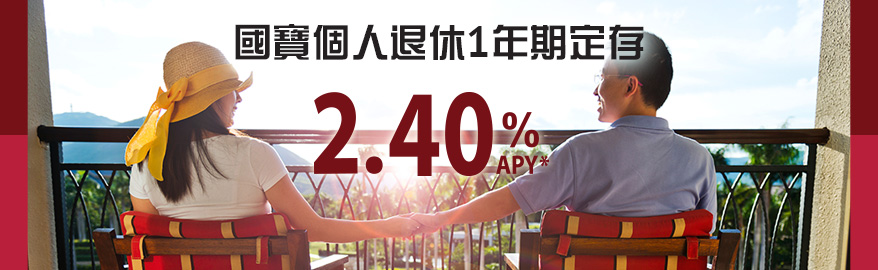 Abacus Personal 1-year IRA CD 2.40% APY