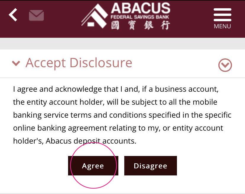 Abacus Mobile Banking Abacus Federal Saving Bank